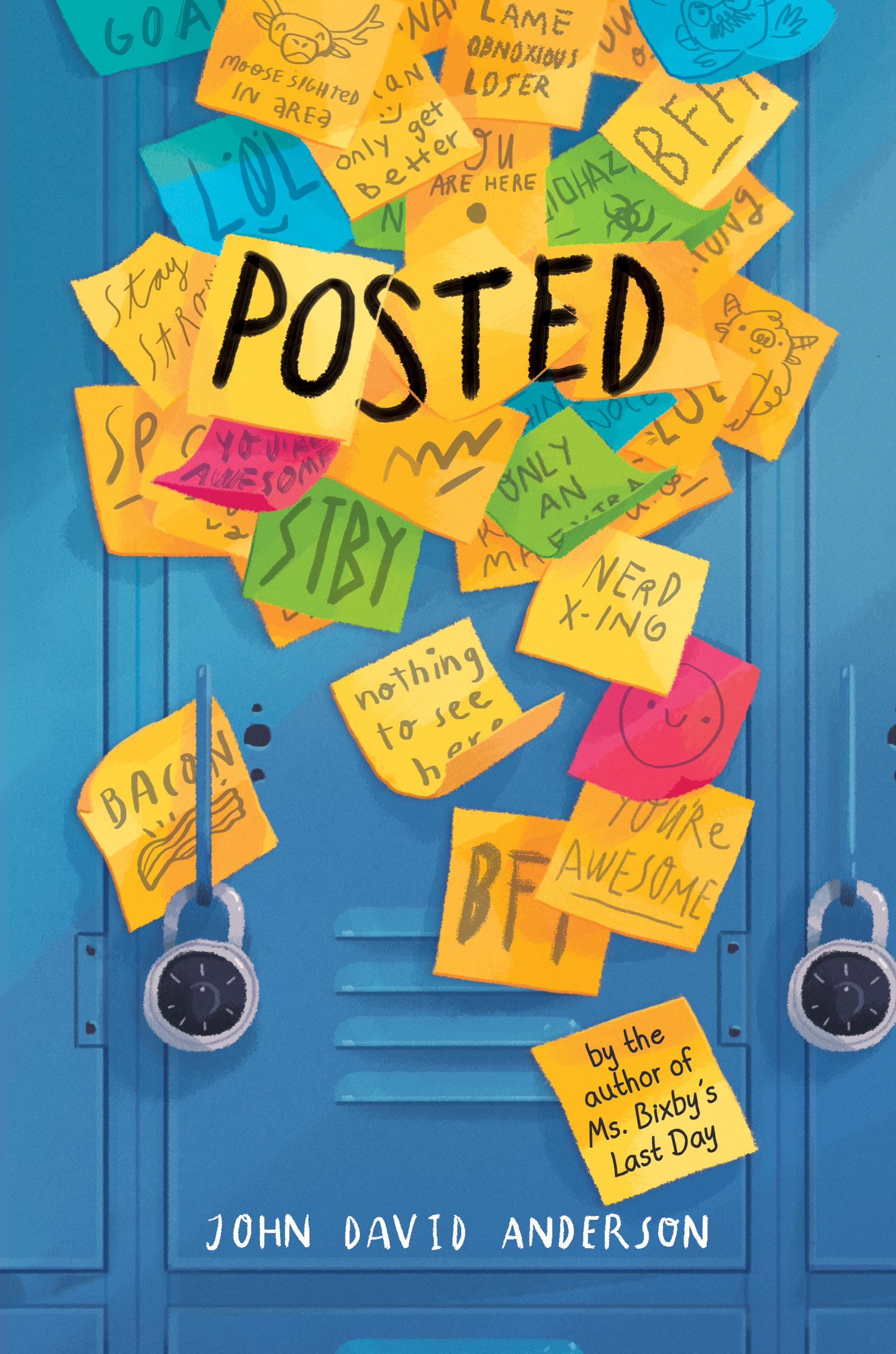 Book Cover Premiere: Posted – All The Wonders